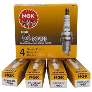 NGK 7090 BKR5EGP G-Power Spark Plugs